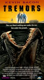 Tremors Saturday afternoons film got a full house